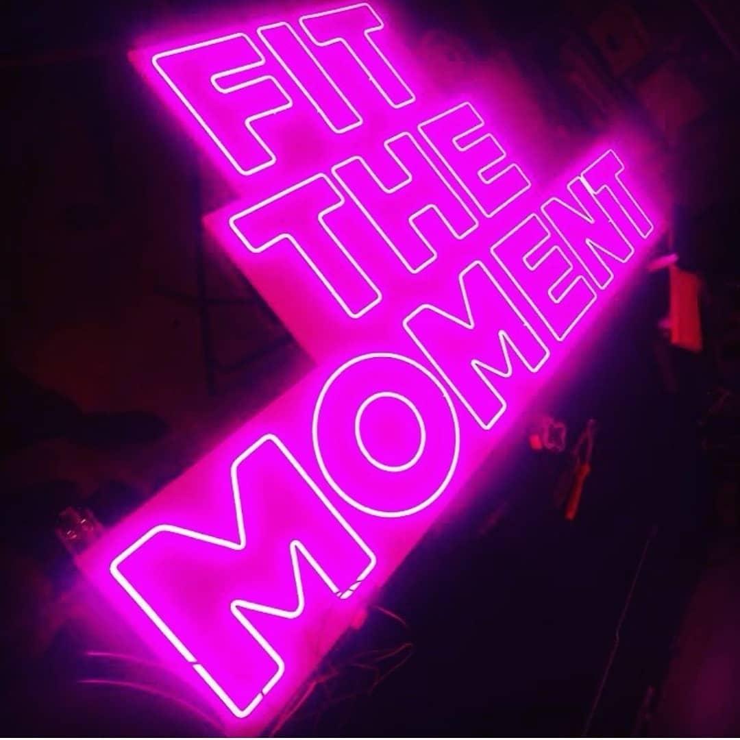 Neon LED sur mesure Fit The Moment