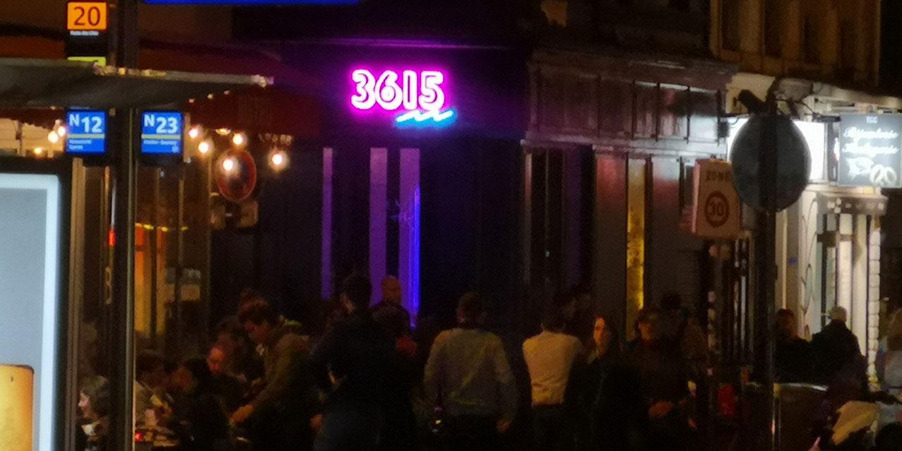 Logo 36 15 Neon LED personnalisé extérieur