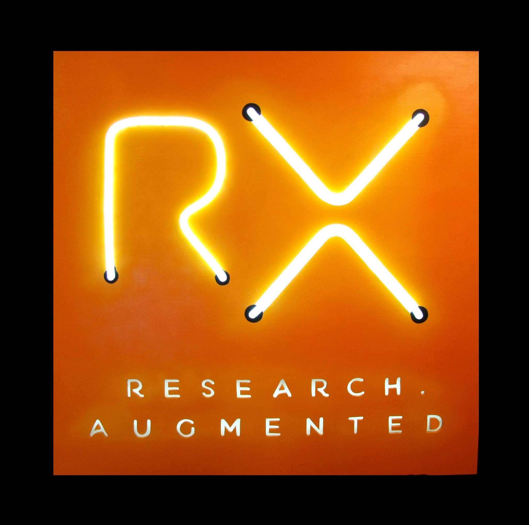 Logo RX en LED Neon personnalisé