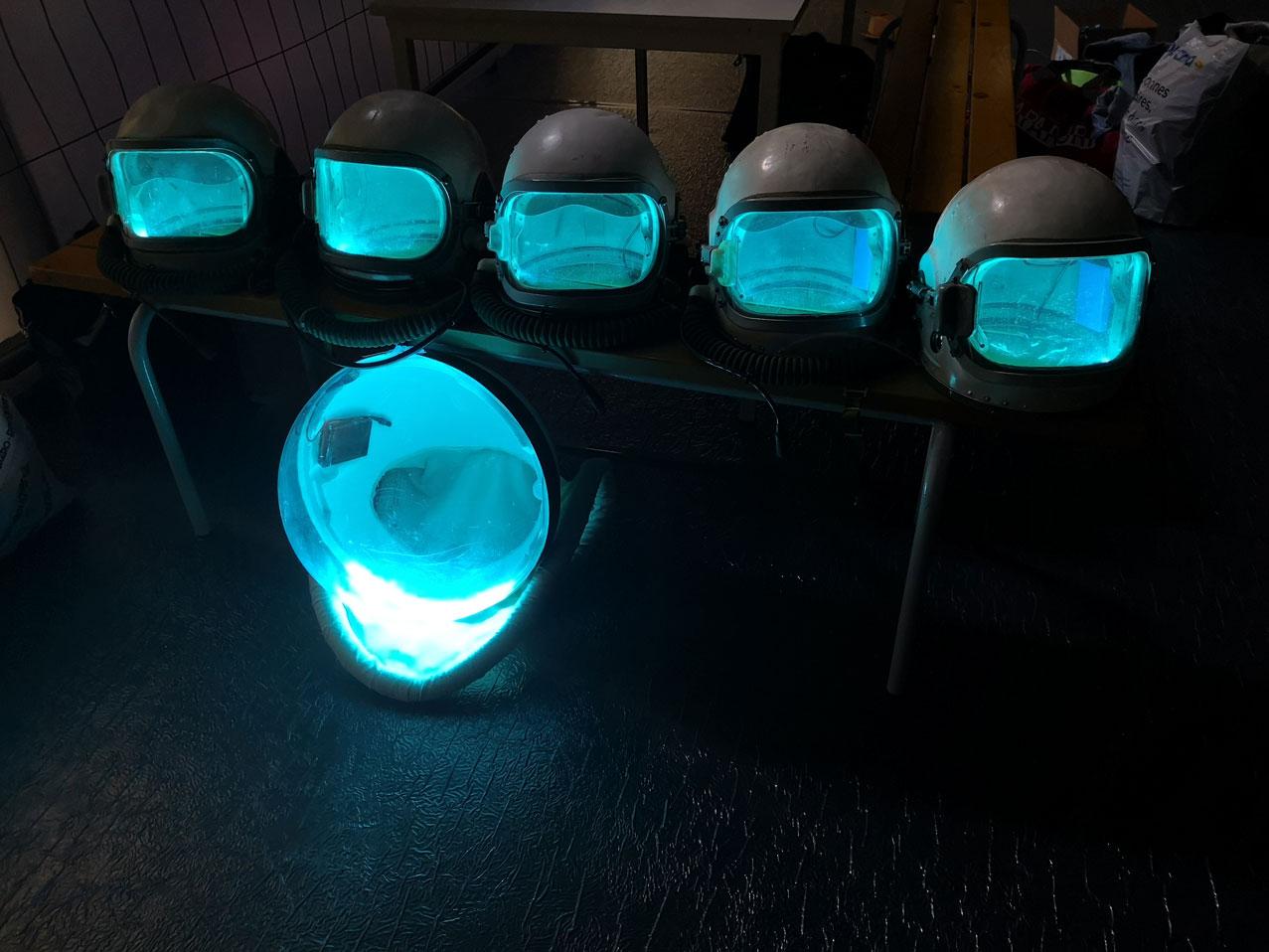 Décoration personnalisée en LED NEON thematique espace 4