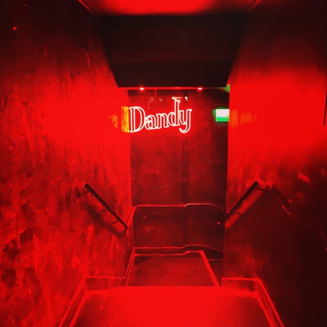 Logo Dandy en Néon LED sur mesure