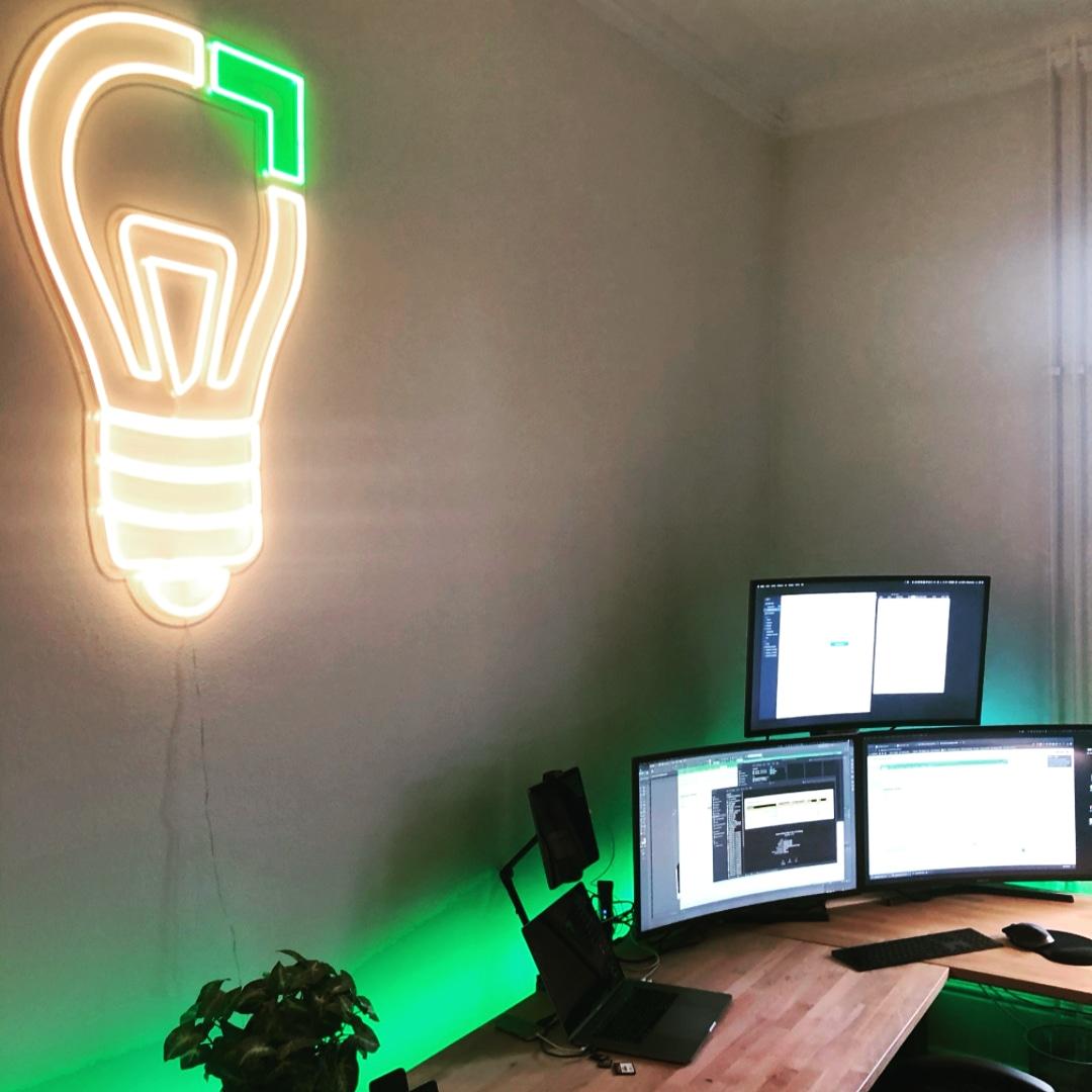 Déco Logo en LED Neon Sur mesure