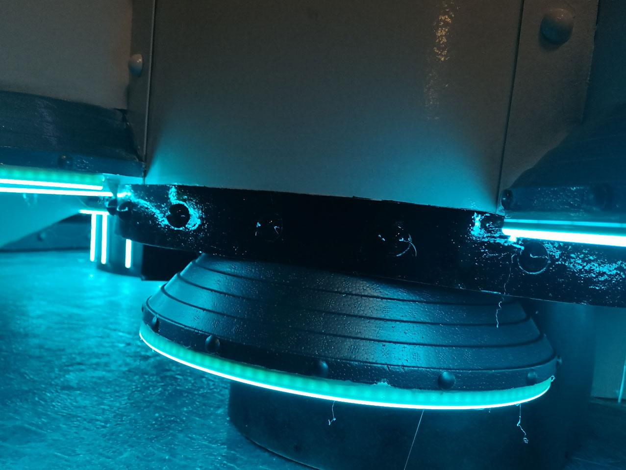 Décoration personnalisée en LED NEON thematique espace 3